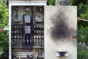 overloaded circuit board causing electrical fire northfield nh