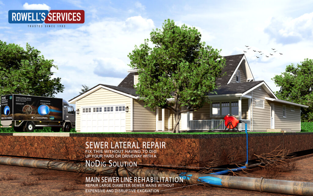 trenchless sewer repairs northfield nh